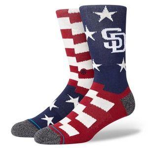 Stance MLB Brigade San Diego Padres Crew Socks